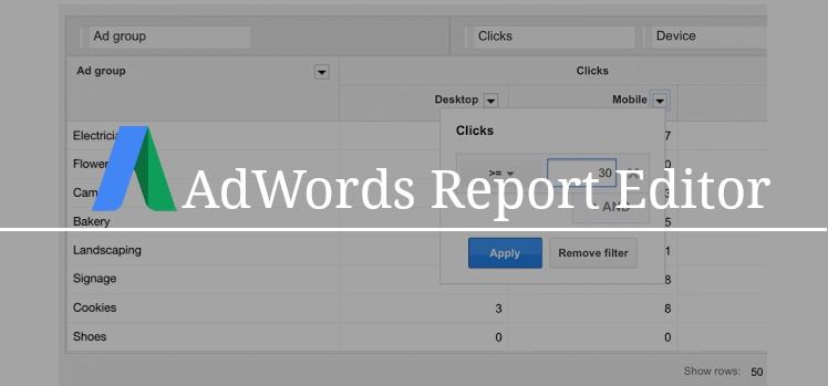 adwords-report-editor