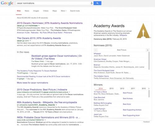 google-oscar-e