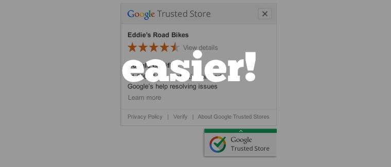 google trusted stores easier