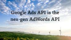 Google Ads API